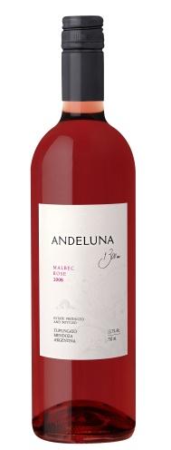 Wino Różowe Andeluna